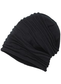 geraffte Beanie uni, bpc bonprix collection
