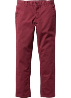 Hose Slim Fit Straight, RAINBOW, bordeaux