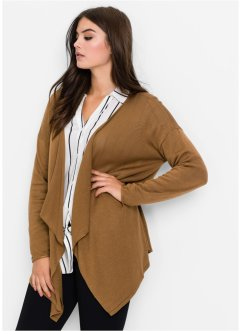 Strickjacke, BODYFLIRT, medium camel