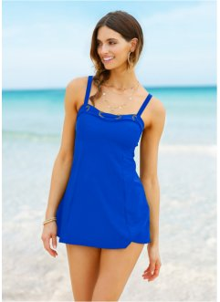 Tankini lang (2-tlg. Set), bpc selection, blau