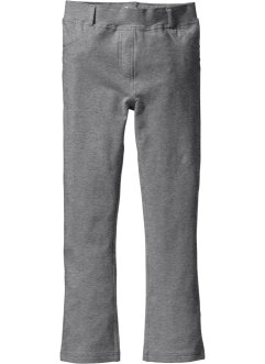 Stretchhose in Bootcutform, bpc bonprix collection, grau meliert