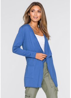 Strickjacke, BODYFLIRT, blau