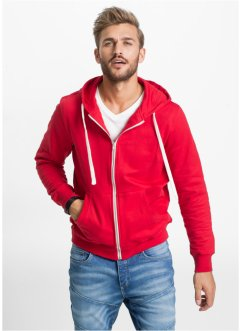Sweatjacke im Slim Fit, RAINBOW