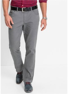 5-Pocket Stretchhose, Slim Fit Straight, bpc bonprix collection, dunkelbraun
