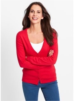 Basic Feinstrick-Jacke, bpc bonprix collection
