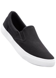 Slip On, bpc bonprix collection, schwarz