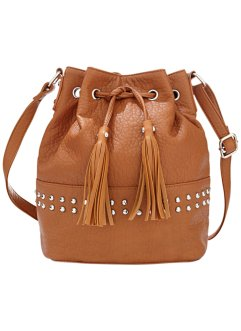 Beuteltasche, bpc bonprix collection, cognac