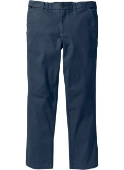 Stretch-Chino im Regular Fit Straight, bpc selection, dunkelblau