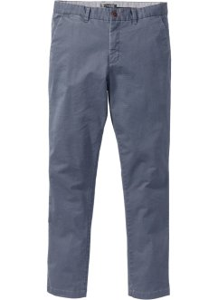Chino-Hose Minimalmuster Slim Fit, bpc selection