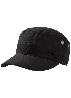 Herren-Cuba Kappe, bpc bonprix collection, schwarz