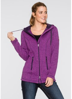 Strickfleece-Jacke, bpc bonprix collection