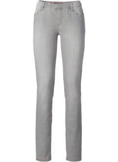 Jeggings, RAINBOW, light grey denim