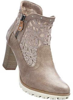 Stiefelette von Mustang, Mustang, taupe