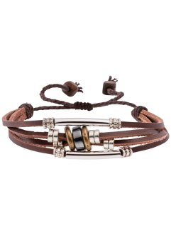 4-reihiges Lederarmband, bpc bonprix collection