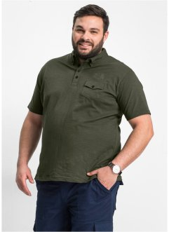 Poloshirt Regular Fit, bpc selection, oliv
