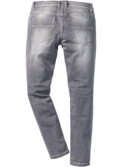 Stretch-Jeans SKINNY, RAINBOW, grey denim used