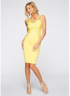 Partykleid, BODYFLIRT boutique, dunkelpink
