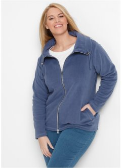 Fleece-Jacke, bpc bonprix collection, indigo