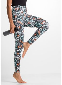 Lange Funktions-Leggings, bpc bonprix collection, bedruckt