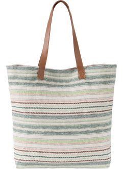 Baumwoll-Shopper gestreift, bpc bonprix collection