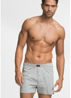 Lockere Jersey Boxershorts (4er-Pack), bpc bonprix collection