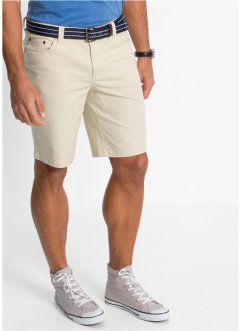 Stretch-Bermuda Classic Fit, bpc bonprix collection, natur
