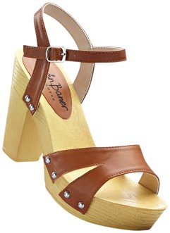 Sandalette, bpc bonprix collection, camel