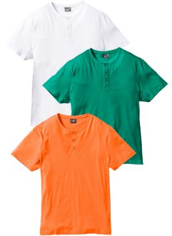 T-Shirt (3er-Pack) Regular Fit, bpc bonprix collection