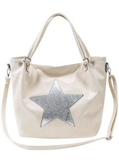 Tasche Stern, bpc bonprix collection, beige