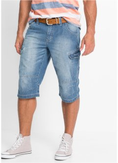 Jeans-Long-Bermuda Loose Fit, John Baner JEANSWEAR