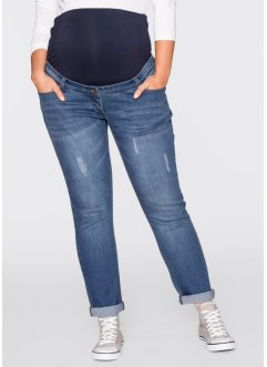 Umstandsjeans Boyfriend, gekrempelt, bpc bonprix collection