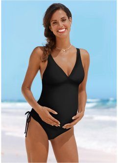 Umstandstankini, bpc bonprix collection, schwarz