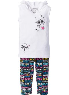 Top + Caprileggings (2-tlg.), bpc bonprix collection