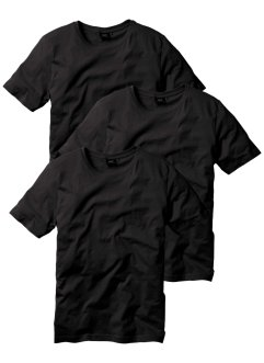 T-Shirt (3er-Pack), Regular Fit, bpc bonprix collection
