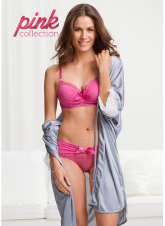 Pink Collection Schalen-BH mit Glitzersteinen, BODYFLIRT, mattpink
