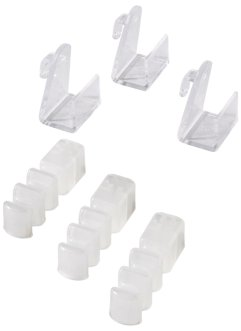 Fensterklipp-Distanzhalter (6er-Pack), bpc living, transparent