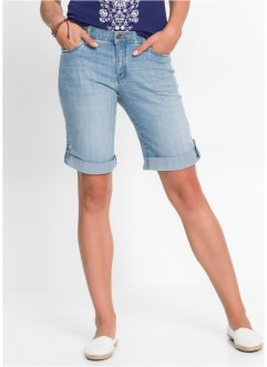 Stretch-Jeans-Shorts, John Baner JEANSWEAR