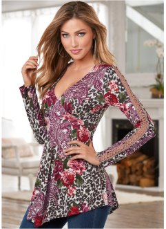 Shirt mit Floral-Multi-Print, BODYFLIRT boutique