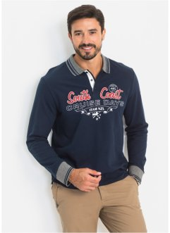 Langarm-Poloshirt Regular Fit, bpc bonprix collection