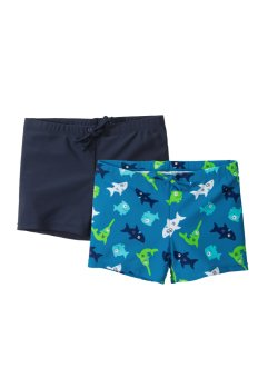 Badehose Jungen (2er-Pack), bpc bonprix collection