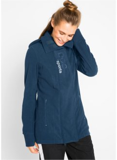 Fleece-Langjacke, bpc bonprix collection