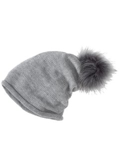 Beanie mit Pompom, bpc bonprix collection