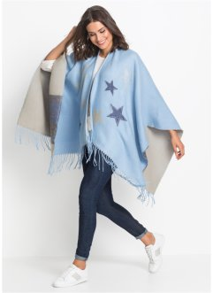 Poncho mit Sternen, bpc bonprix collection