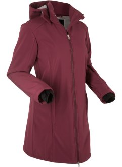 Funktions-Softshell-Langjacke mit Teddyfleece, bpc bonprix collection