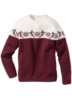 Norweger-Pullover mit Wolle Regular Fit, bpc bonprix collection