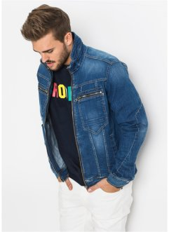 Stretch-Jeansjacke Regular Fit, RAINBOW