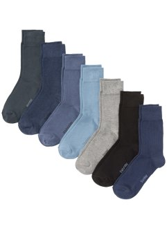 Business Socken mit Wochentagen (7er-Pack), bpc bonprix collection