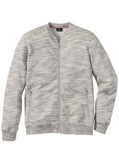 Sweatjacke mit Baseballkragen Regular Fit, bpc bonprix collection