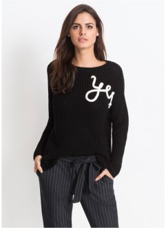 "Strickpullover ""Yes"", BODYFLIRT"