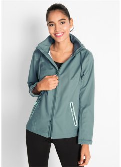Ultraleichte Softshelljacke mit Beutel, bpc bonprix collection